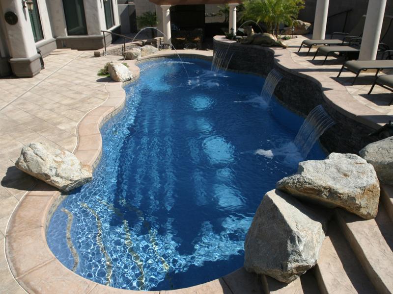 Pool designs inc swimming pool perimeter inlayed for Pool designs yardville nj